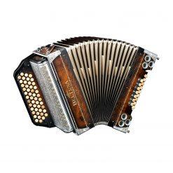 Beltuna Alpstar IV D Walnuss Harmonika
