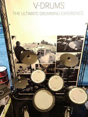 Musikgeschäft Schlagzeug