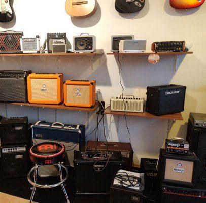Musikgeschäft Verstärker
