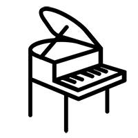Musikinstrumente Lieferung