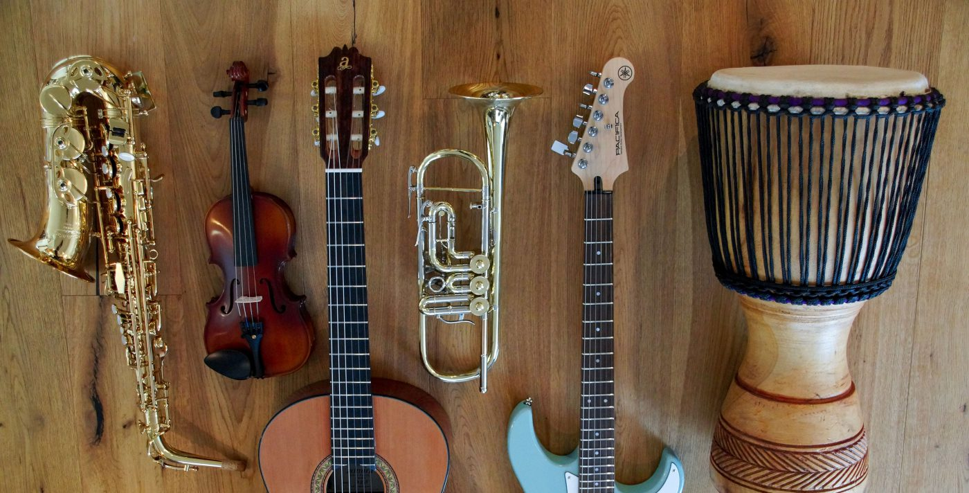 Finanzierung für Musikinstrumente