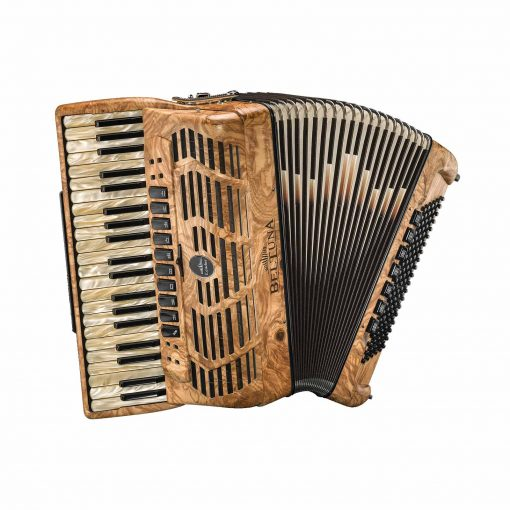 Beltuna Leader IV 120 P Pianoakkordeon mit Casotto