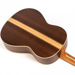 Höfner HGL6 Konzertgitarre hinten