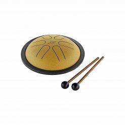Meinl MSTD2NB Mini Steel Tongue Drum in Gold